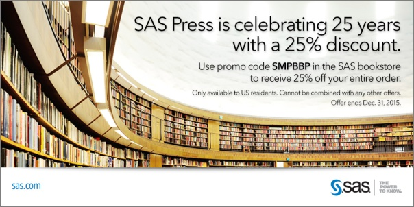 Save Big on SAS Books